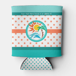 Sun & Surf Can Cooler