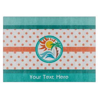 Sun & Surf Cutting Board