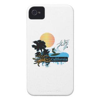 Sun Surf Palms CALIFORNIA iPhone 4 Case-Mate Cases