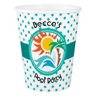 Sun & Surf Paper Cup
