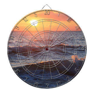 Sun Surf Waves Dart Board