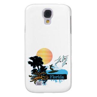 Sun Surfer Palms Gulls FLORIDA Samsung Galaxy S4 Covers