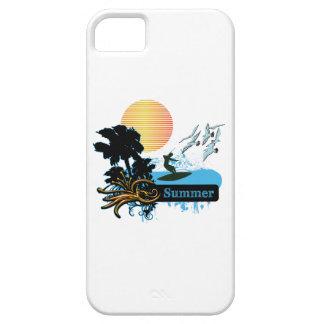 Sun Surfer Palms & Gulls SUMMER iPhone 5 Case