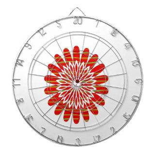 SUN SUTRA : Reiki Master created RED SHADE energy Dartboards