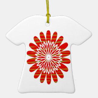SUN SUTRA : Reiki Master created RED SHADE energy Christmas Tree Ornament