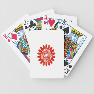 SUN SUTRA : Reiki Master created RED SHADE energy Bicycle Card Deck