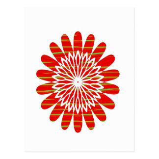 SUN SUTRA : Reiki Master created RED SHADE energy Postcard