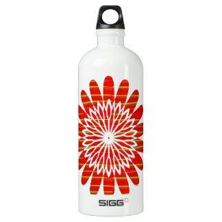 SUN SUTRA : Reiki Master created RED SHADE energy SIGG Traveller 1.0L Water Bottle