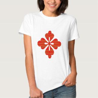SUN SUTRA : Reiki Master created RED SHADE energy Tee Shirt
