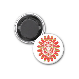 SUN SUTRA : SILKY RICH COLOR Surface by ARTIST 3 Cm Round Magnet