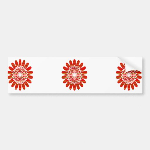SUN SUTRA : SILKY RICH COLOR Surface by ARTIST Bumper Stickers