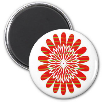 SUN SUTRA : SILKY RICH COLOR Surface by ARTIST Fridge Magnet