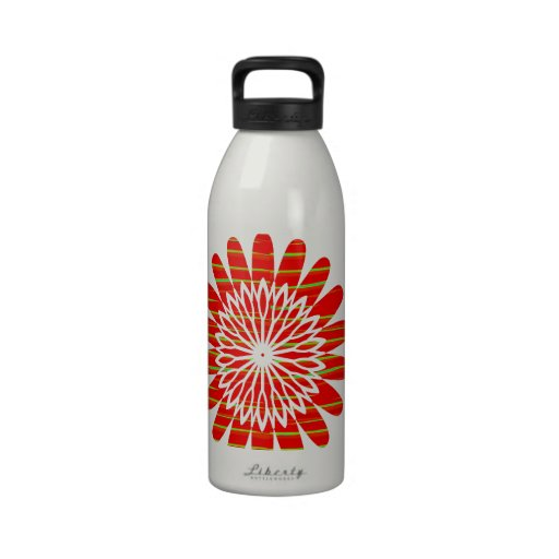 SUN SUTRA : SILKY RICH COLOR Surface by ARTIST Water Bottle