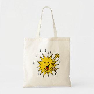 Sun Sweating Tote Bags