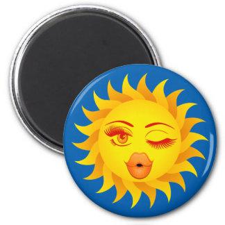 Sun Symbol Sun Kissed Magnet