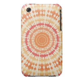 Sun Tie Dye iPhone 3 Case-Mate Case