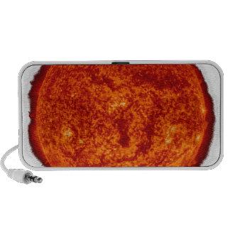 Sun transparent notebook speaker