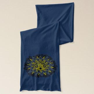 Sun Ukrainian Folk Art Scarf Wraps