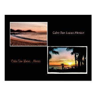 sun up sun down cabo is beautiful #2 postcard