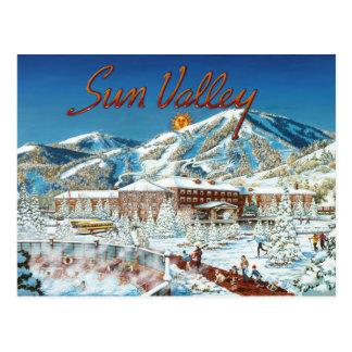 Sun Valley Art Postcard