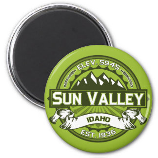 Sun Valley Color Logo Magnet