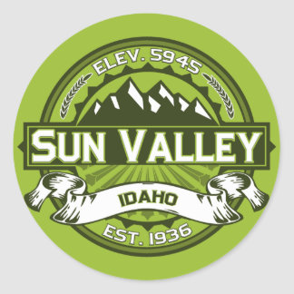 Sun Valley Color Logo Sticker