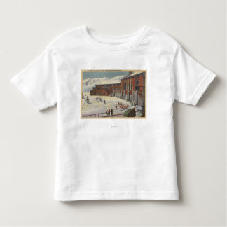 Sun Valley, ID - Ski Party at Lodge Sawtooth Toddler T-Shirt