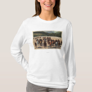 Sun Valley, ID - Wild Horse Roundup T-Shirt