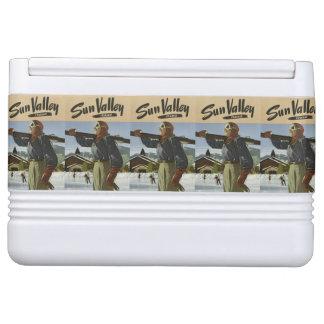 Sun Valley, Idaho Vintage Travel cooler Igloo Cool Box