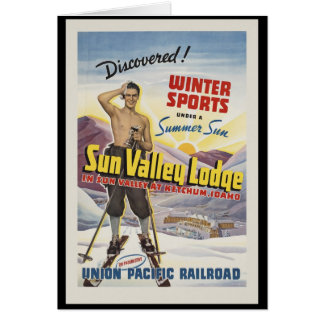 Sun Valley Lodge Idaho Card