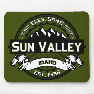 Sun Valley Olive Logo Mouse Mat