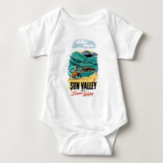 Sun Valley Summer Holiday Baby Bodysuit