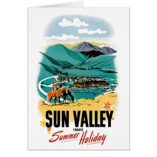 Sun Valley Summer Holiday Card