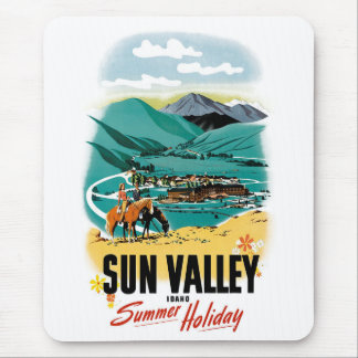 Sun Valley Summer Holiday Mouse Pads