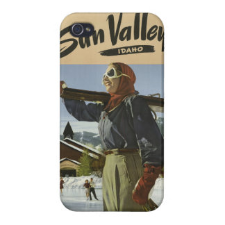 Sun Valley USA Vintage Travel cases Cover For iPhone 4
