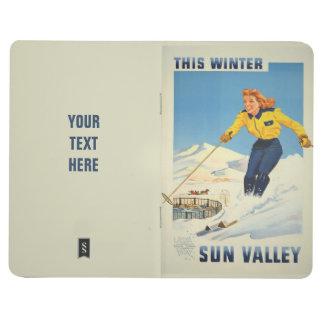 Sun Valley USA Vintage Travel pocket journal