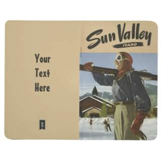 Sun Valley USA Vintage Travel pocket journal