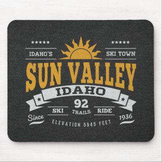 Sun Valley Vintage Gold Mousepad