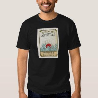 Sun  Vintage Japanese Silk Label T-shirt