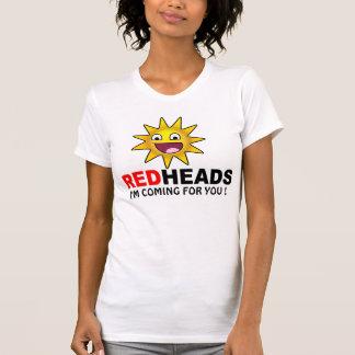 SUN VS. REDHEAD FUNNY SHIRT