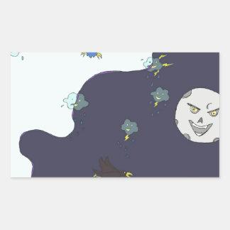 sun vs the moon! sticker