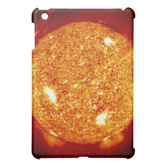 Sun with solar flares iPad mini cover