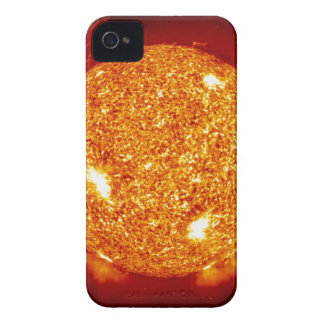 Sun with solar flares iPhone 4 cover