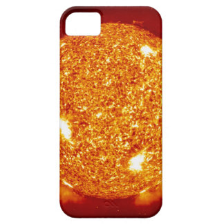Sun with solar flares iPhone 5 case