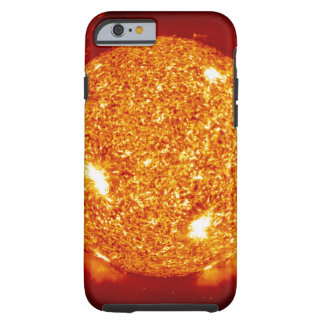 Sun with solar flares tough iPhone 6 case