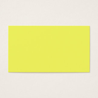 Sun Yellow Color Only Visual Identifier Tools Business Card