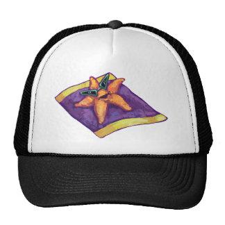 Sunbathing Starfish Hats
