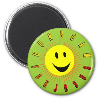 Sunbeam For Jesus 6 Cm Round Magnet