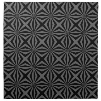 Sunbeam in Black and Grey tiled Napkins