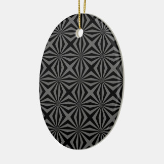 Sunbeam in Black and Grey tiled Ornament